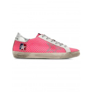 [ Clearance Sale ] Golden Goose Superstar sneakers M36 PINK NET SILVER