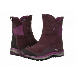 [ Clearance Sale ] Keen Winterterra Leather WP Boot Winetasting/Tulipwood
