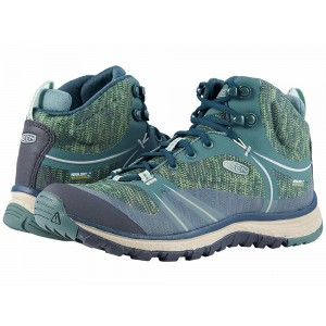 [ Clearance Sale ] Keen Terradora Mid Waterproof Duck Green/Quiet Green